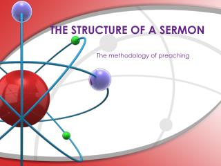 THE STRUCTURE OF A SERMON