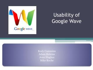 Usability of Google Wave