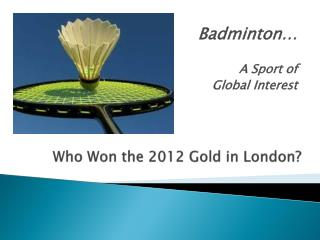 Who Won the 2012 Gold in London?