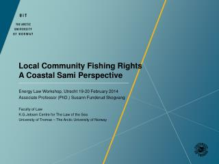 Local Community Fishing Rights A Coastal Sami Perspective