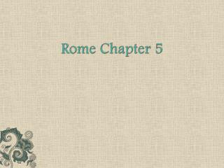 Rome Chapter 5