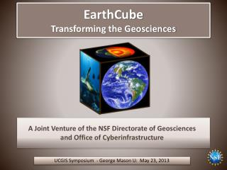 EarthCube Transforming the Geosciences
