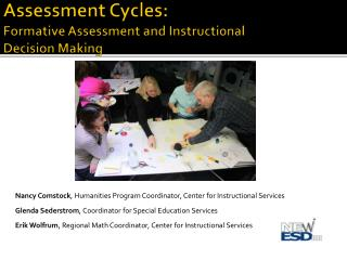 Assessment Cycles: Formative Assessment and Instructional  Decision Making
