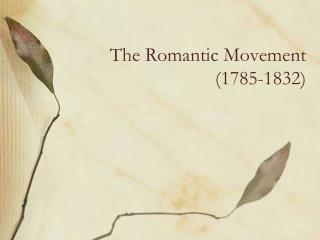 the romantic movement during the romantic period in europe and america