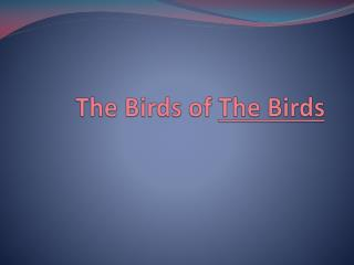 The Birds of  The Birds