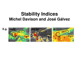 Stability Indices Michel  Davison and  José Gálvez