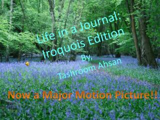 Life in a Journal: Iroquois Edition