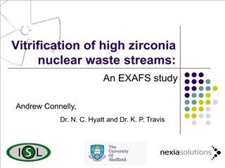 Vitrification of high zirconia nuclear waste streams: