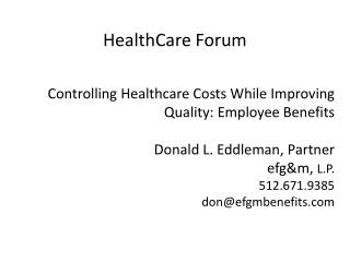 HealthCare Forum