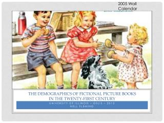 The demographics of fictional picture books In the Twenty-First Century
