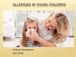 Allergies in Young Children