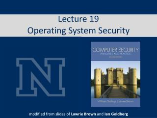 Lecture 19 Operating System Security