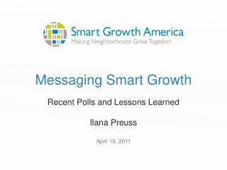 Messaging Smart Growth