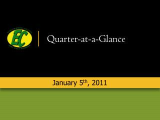 Quarter-at-a-Glance