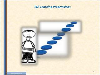 ELA Learning Progressions
