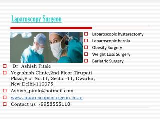 Laparoscopic Surgeon