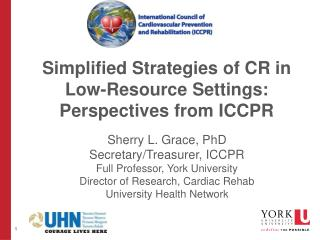 Simplified Strategies of CR in Low-Resource Settings: Perspectives from ICCPR