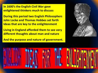 ENGLISH IDEAS   FOR   THE   ENLIGHTENMENT