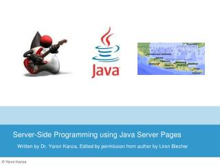 Server-Side  Programming using  Java Server Pages