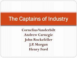 jp morgan captain of industry