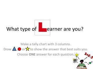 What type of earner are you ?