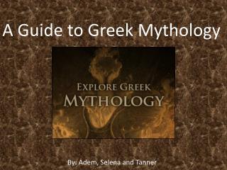 A Guide to Greek Mythology