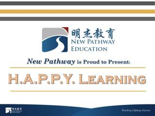 New Pathway  is Proud to Present :