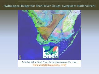 Hydrological Budget for Shark River Slough, Everglades National Park