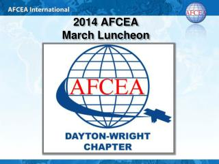 2014 AFCEA  March Luncheon