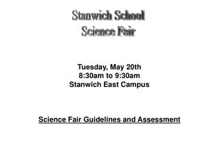 Stanwich School Science Fair