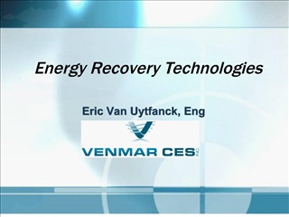 Energy Recovery Technologies