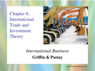 Modern trade theory and trade policy