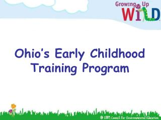 Ohio's Early Childhood Training Program