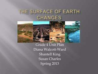 The Surface of Earth Changes
