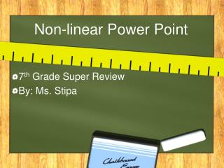 Non-linear Power Point