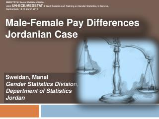 Male-Female  Pay  Differences Jordanian  Case