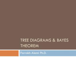 Tree Diagrams & Bayes Theorem