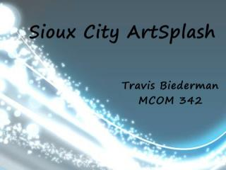 Sioux City  ArtSplash