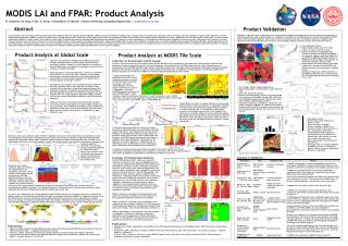 MODIS LAI and FPAR: Product Analysis