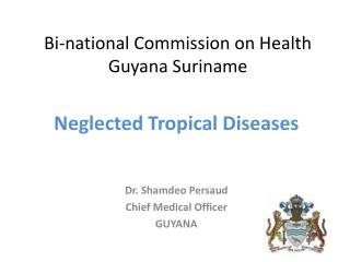 Bi-national Commission on Health Guyana Suriname