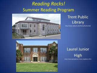 Reading Rocks! Summer Reading Program