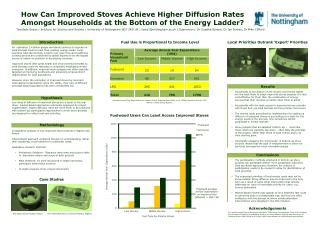 Comparative analysis of two improved stove projects in Nigeria and Kenya.