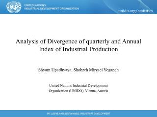 Analysis of Divergence of quarterly and Annual Index of Industrial Production