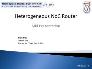 Heterogeneous NoC Router