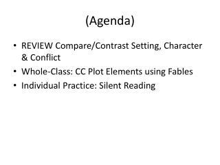(Agenda)