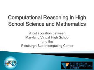 Computational Reasoning in High School Science and Mathematics