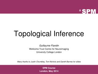 Topological Inference