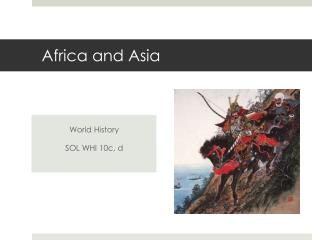 Africa and Asia