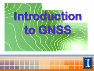 Introduction to GNSS