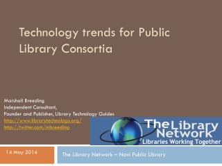 Technology trends for Public Library Consortia